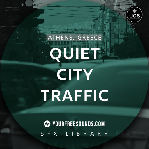 Quiet City Traffic Ambience Sounds
