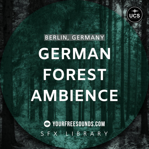 German Forest Ambience Sound Effects