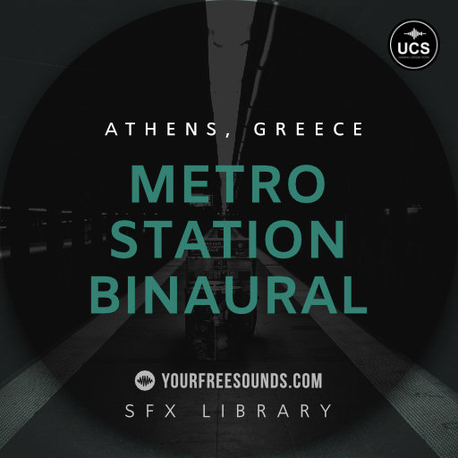 Metro Station Binaural Sounds