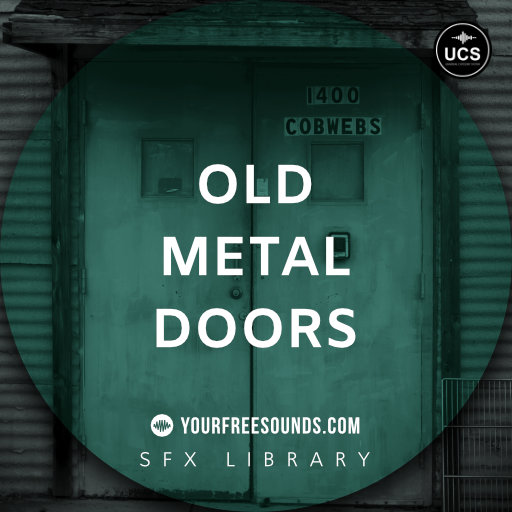 Old Metal Door Sound Effects