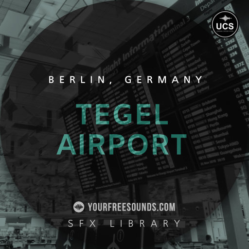 Tegel Airport Ambience Sound Effects