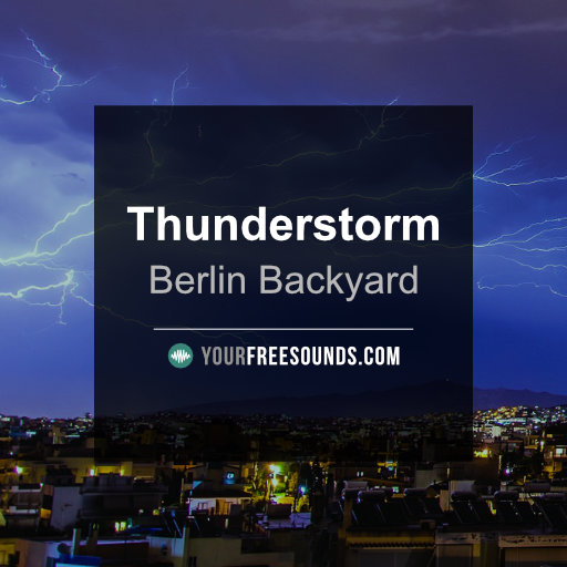Thunderstorm Sound Effects Library