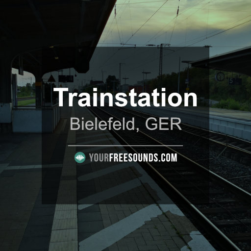 Trainstation Sound Effects (Germany)