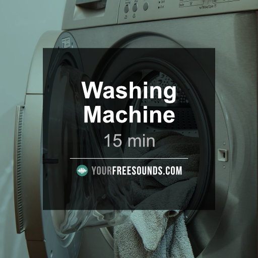 Washing Machine (15min) Sound Effect