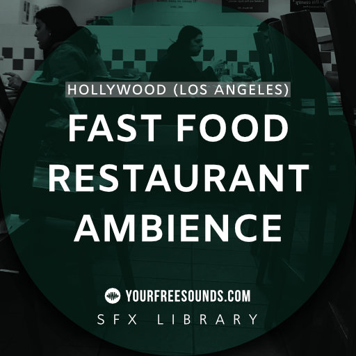 Fast Food Restaurant Ambience Sound