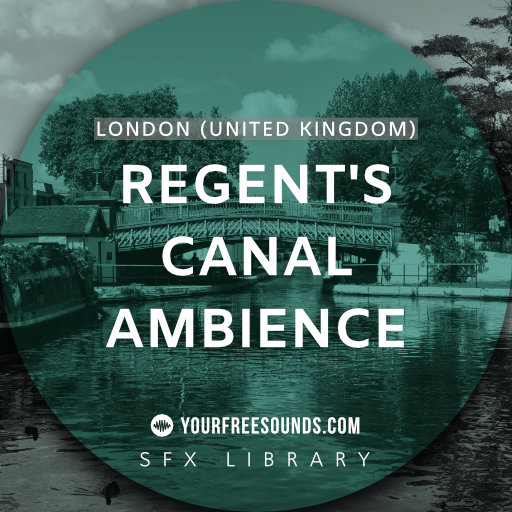 Regent's Canal London Ambience Sound