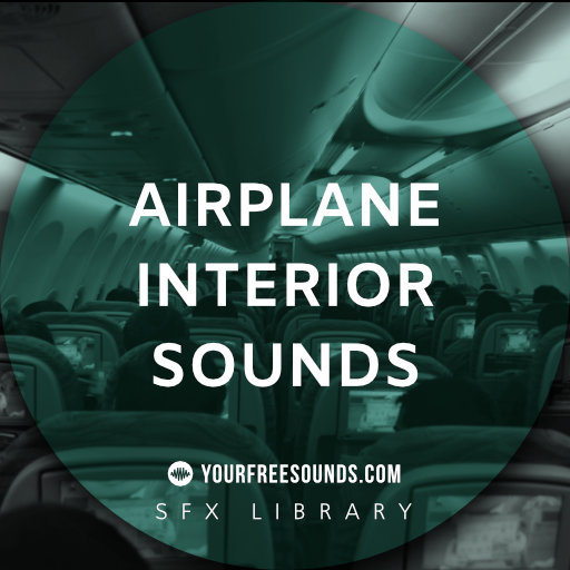 Airplane Sound Effect (interior, incl departure)