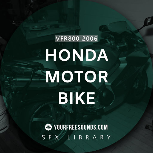 Honda VFR800 2006 Motorbike Sound Effects