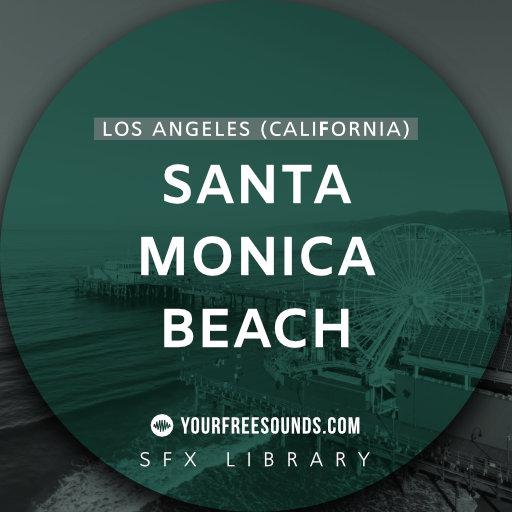 Santa Monica Beach Sound Effects