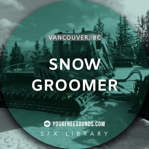 Snow Groomer Sound Effects