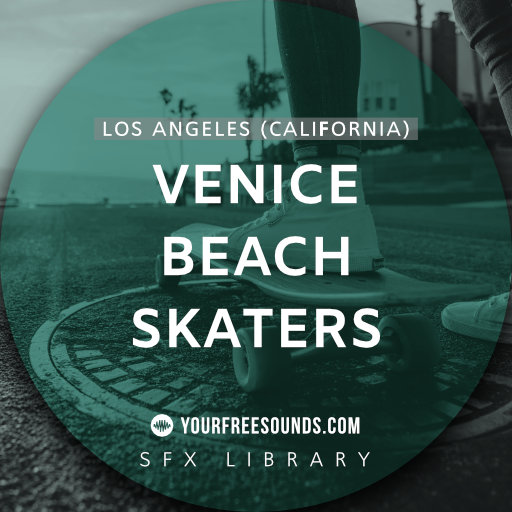 Venice Beach Skater Sound Effects