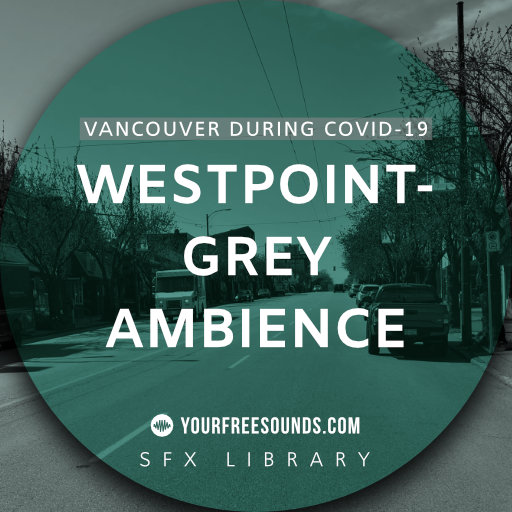 West Point Grey (Canada city ambience sounds)