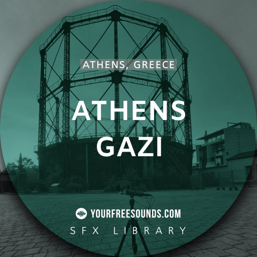 Gazi Athens (Neighbourhood Ambiences)