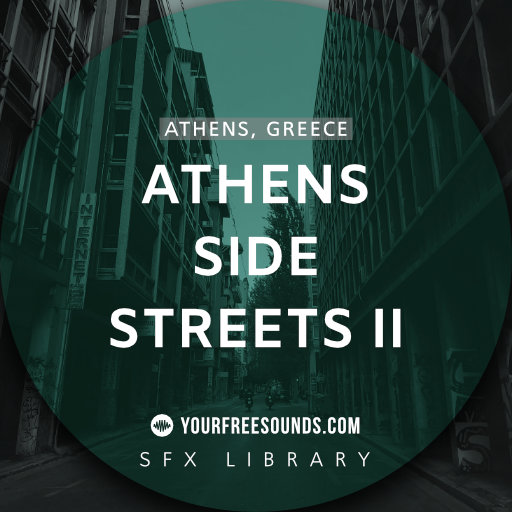 Athens Side Street Sound Effects Pt. 2