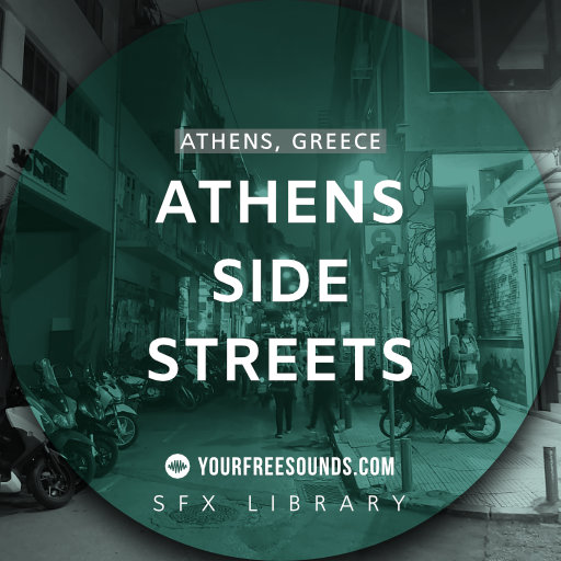 Athens Side Street Sound Effects