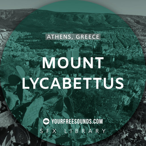 Mount Lycabettus Athens (Mountain Ambience Sounds)