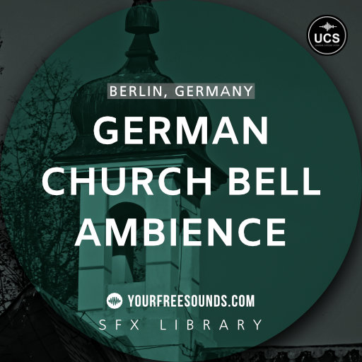 German Church Bell Ambience Sound Effects