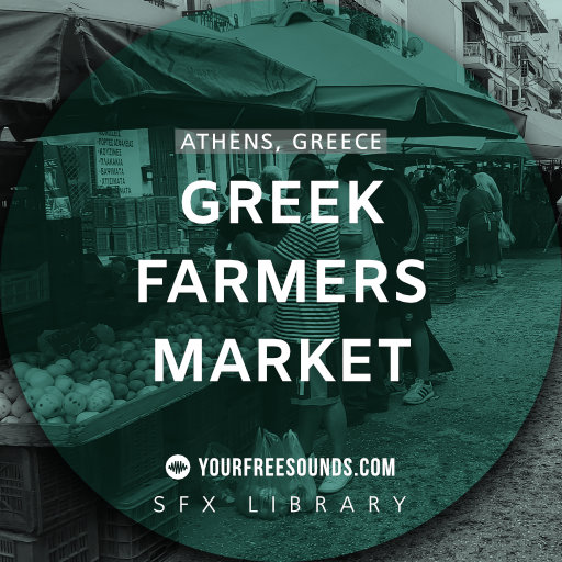 Greek Farmers Market Sound Effects