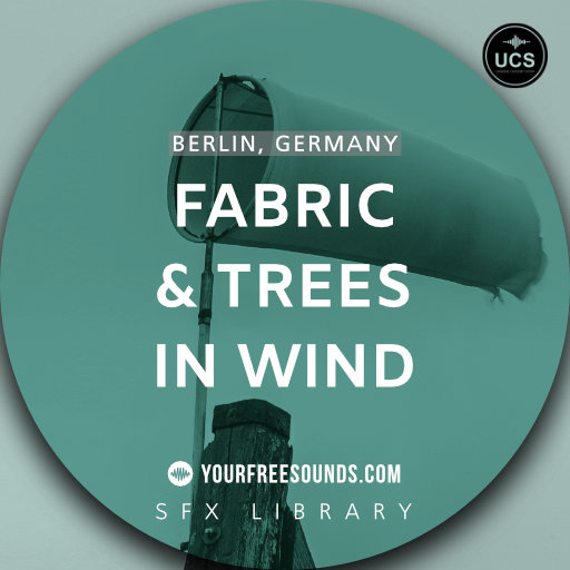 Fabric and Trees in Wind Sound Effects (spooky)