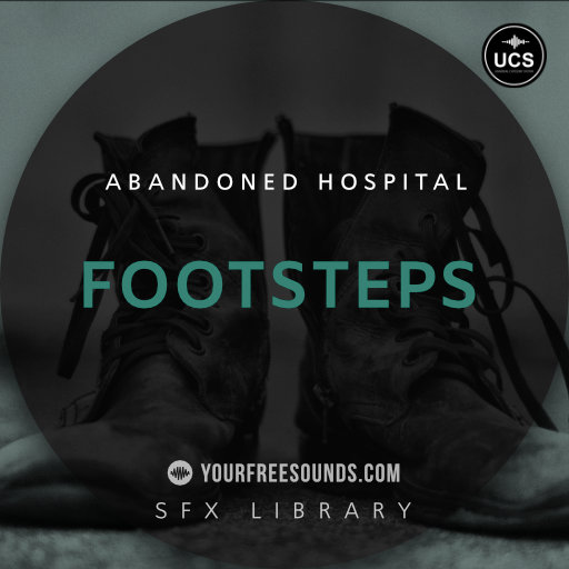 Footsteps in Abandoned Hospital Sound Effects