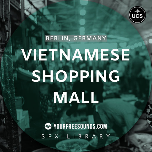 Vietnamese Shopping Mall Sound Effects