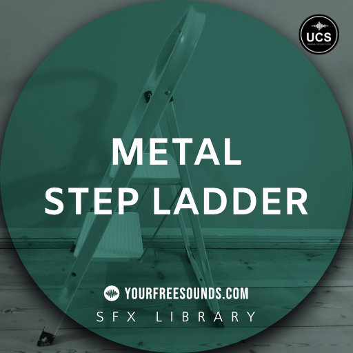 Metal Step Ladder Sound Effects