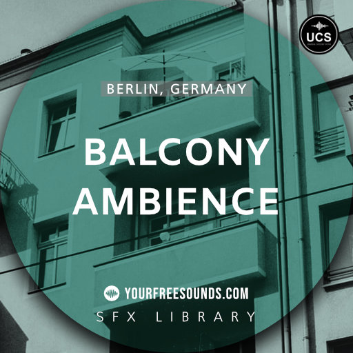 Berlin Balcony Ambience Sound Effects
